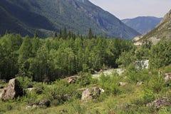 River Chuya near Chuysky Trakt Stock Images