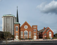 River City Church Royalty Free Stock Photography