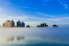 River City Jilin scenery. Eastphoto, tukuchina, River City Jilin scenery, City, scenery Stock Photos