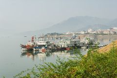 River City Pier Yichang Royalty Free Stock Images