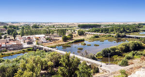 River of Ciudad Rodrigo Royalty Free Stock Photo