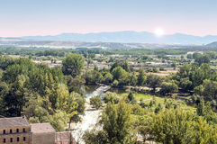 River of Ciudad Rodrigo Stock Image