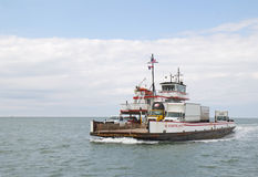 River Class ferry between Ocracoke and Hatteras Islands in North Royalty Free Stock Photo