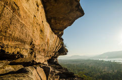 River cliff Royalty Free Stock Photo