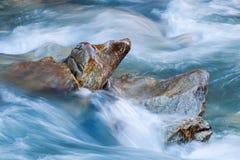 River cliffs Stock Photo