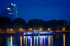 River club on the Danube, SLovakia Stock Photography