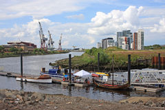 River Clyde, Glasgow Stock Photography