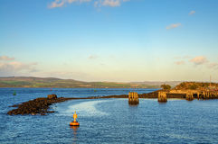 River Clyde at Gourock Royalty Free Stock Photography