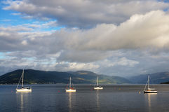 The river Clyde at Gourock Stock Image