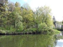 River coast, Lithuania Stock Photo