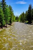 River in Colorado. Near Mesa Verde National Park Royalty Free Stock Image