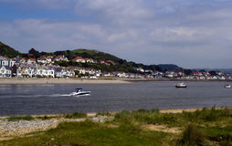River Conwy Royalty Free Stock Photo
