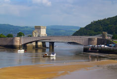 River Conwy royalty free stock image