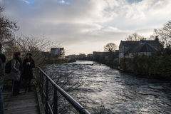 River Corrib - Galway - Ireland Stock Photo