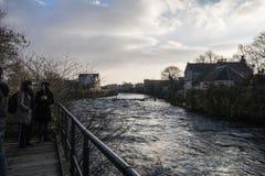 River Corrib - Galway - Ireland Stock Photo