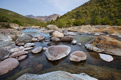 River in Corsica Royalty Free Stock Photo