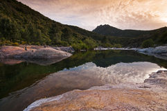 River in Corsica Royalty Free Stock Photos