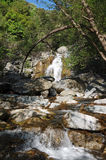 River  in Costa verde mountains Royalty Free Stock Photo