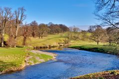 River in countryside Royalty Free Stock Photo