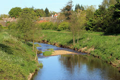 River in countryside Stock Photography