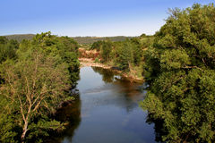 River in the countryside Royalty Free Stock Photo