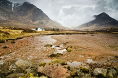 River Coupall in Glen Coe Stock Image