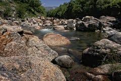 River course by Alardos ravine Royalty Free Stock Photos