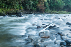 River Cross Stock Photography