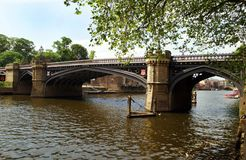 The River Crossing. A Bridge in York Royalty Free Stock Photography