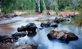 River crossing Royalty Free Stock Photography