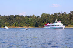 River cruise Royalty Free Stock Photography