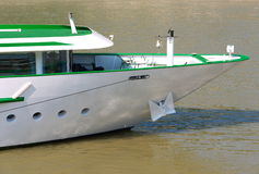 River cruise ship. Cruise ship on the Danube river royalty free stock photography