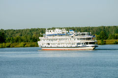 River cruise ship Stock Photos