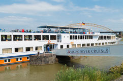 River cruise ship Royalty Free Stock Photography