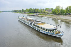 River Cruise Ship MS Swiss Ruby Royalty Free Stock Image