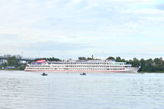 River cruise ships. Stock Image