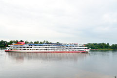 River cruise ships. Royalty Free Stock Photography