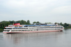 River cruise ships. Stock Photo