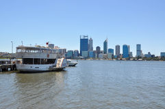 River Cruise: Swan River in Perth Royalty Free Stock Photos