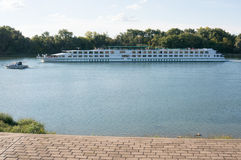 River cruiser Royalty Free Stock Photography