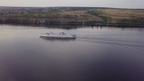 River cruises ship stock video