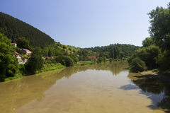 A river in the czech countryside Stock Images