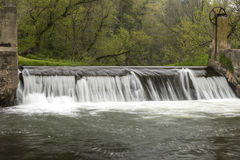 River Dam In Spring Stock Images
