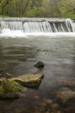 River Dam In Spring Royalty Free Stock Image