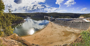 River Dam Warragamba pan Royalty Free Stock Images