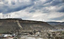 River dam Stock Photography