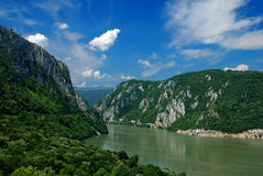 River Danube stock photo
