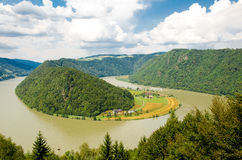 River Danube, Austria Royalty Free Stock Photography