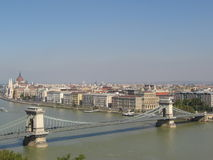 River Danube in Budapest stock images