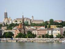 River Danube, Budapest stock photo